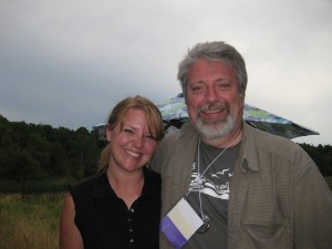 Erika and Bill - the blog buddies
